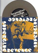 Superglue Revenge - Ltd Edition of 500 7 Inch GREY Vinyl Records NEW