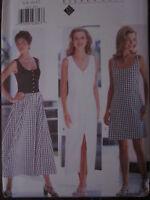 4540 UNCUT Vintage Butterick SEWING Pattern Easy Misses EILEEN WEST Dress FF OOP