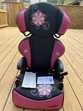 Evenflo Child Car Seat Booter Pink Girls Exp: 02-2023.