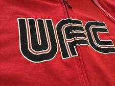 Vintage UFC sweatshirt / hoodie red size large Conner McGregor