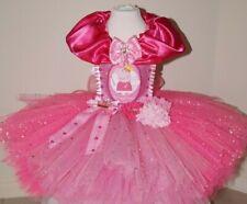 Handmade Girls Peppa Pig Glitter Party Tutu Tulle Dress