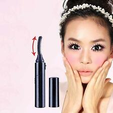 Black Electric Heated Arc Style Makeup Eye Lashes Long Lasting Eyelash Curler