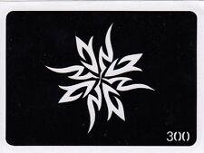 GT300 Body Art Temporary Glitter Tatoo Stencil Tribal Sun