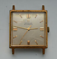 Vintage 1964 OMEGA Cal 671 AUTOMATIC Square 26mm WRISTWATCH 161.014 PARTS REPAIR