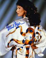 Maud Adams Jsa Coa Hand Signed 8x10 Photo Autograph Authentic
