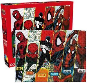 1000 piece MARVEL Retro SPIDER-MAN TIMELINE Jigsaw Puzzle Licensed AVENGERS