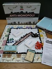 Anti-Monoploy Board Game Lamond Games 2005 Complete