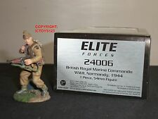 Britains 24006 Elite delle forze British Royal Marine Commando 1944 metal toy soldier