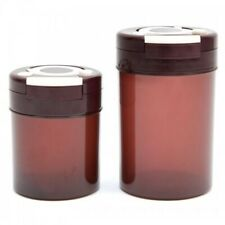 InfraRed Airtight Storage Canister - Food - Kitchen - Health - Medicine (2 pack)