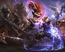 League of Legends LOL 16 Poster Art Print Gamers Wall Decoration 20x16 Inches