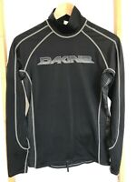 Dakine Men's (size M) Long Sleeve Snugg Fit Rash Guard Black Heavy Duty