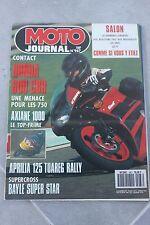 MOTO JOURNAL N°967 JOHN KOCINSKI YAMAHA 250 YDS6 HONDA CBR 600 F ★ SALON ★ 1990