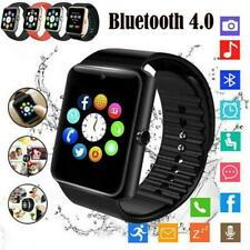 GT08 Smart Watch Bluetooth Touch Screen Sport Support TF SIM Card Anti-lost