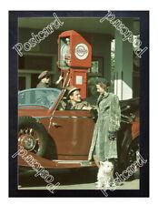 Historic Standard Oil Co. Bowser Postcard