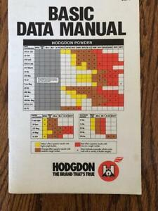1988 HODGDON POWDER RELOADING MANUAL