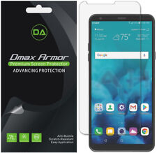 6-Pack Dmax Armor HD Clear Screen Protector shield for LG Stylo 4