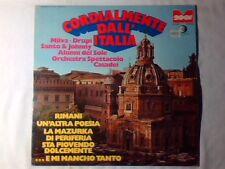 LP Cordialmente dall'Italia MILVA DRUPI ALUNNI DEL SOLE RARISSIMO VERY RARE