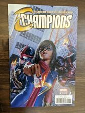 Marvel Comics Champions #1 (2016) 1:100 Alex Ross Variant