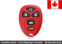 1x New Replacement Keyless Entry Remote Control Key Fob For Chevy Buick Cadillac