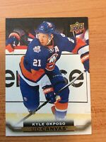 UPPER DECK 2015-2016 SERIES TWO CANVAS KYLE OKPOSO HOCKEY CARD C-175