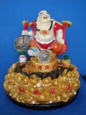 Big Feng Shui Buddha Water Fountain Carrying Coin and Wu Lou