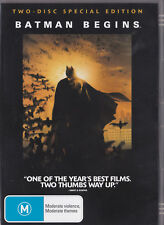 Batman Begins, ( DVD 2005 ) Two - Disc Special Edition, Excellent Condition