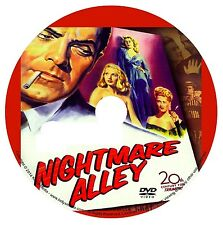 NIGHTMARE ALLEY (1947) TYRONE POWER/JOAN BLONDELL/FILM NOIR/DRAMA/CLASSICS/DVD
