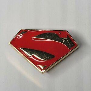 Crocs Jibbitz DC Comics Superman Logo Metal Shoe Charm Never Used