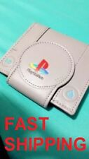 Playstation Wallet Gamer Purses PS1 New Sony Bifold Unisex FREE FAST SHIPPING