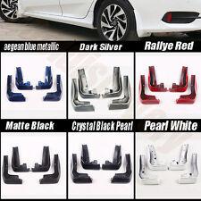6 Colour Mudguard MUD Flaps Fender Splash Guard For Honda Civic Sedan 2016-2017