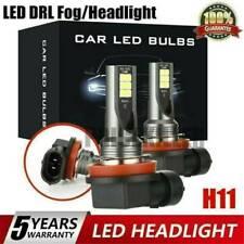 2Pcs H11 H8 H9 Car LED Light Headlight 24000LM 100W Kit Hi Low Beam Bulb 6500K