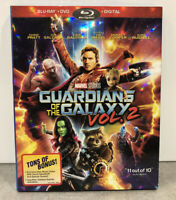 Marvel Guardians of the Galaxy Vol. 2 (Blu-ray/DVD, 2017, Includes Digital Copy)