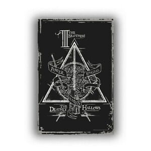 Harry Potter And The Deathly Hallows (The Deathly Hallows) Movie Poster HD Print