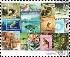 More details for animals miniature sheets : 50 different collection