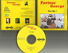 FURIOUS GEORGE w/ DEE DEE RAMONE Goes Ape w/ 3 UNRLEASED TRX CD single Ramones