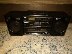 Panasonic RX-DT610 Stereo CD cassette radio Ghetto blaster original instructions