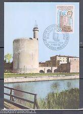 FDC CARTE 1°JOUR - LA TOUR CONSTANCE.30.GARD - OBL.31.8.1968 - TIMBRE Yt.1566