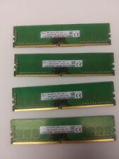 New listing Sk Hynix 32gb kit (4X8Gb) Pc4-2400T Ddr4 Desktop Ram Memory Dimm 288 Pin 1Rx8