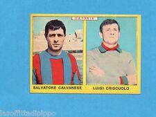 PANINI CALCIATORI 1966/67 - Figurina- CALVANESE+CRISCUOLO - CATANIA -NEW