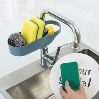 Creative Kitchen Sink Sponge Scrubber Tidy Storage Holder Rack Cleaning Organize