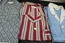 Vintage Lot Mens Pajamas 50s-70s Weldon Van Heusen Enro Wards 5 sets Sz B C Long