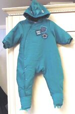 PUMPKIN PATCH -  Dinosaur Snowsuit 3-6 Months - FLEECE LINED