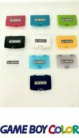Game Boy Color Battery Cover for Nintendo GBC Door Sticker Grape Lime Teal Berry