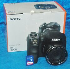 Sony Cyber-shot DSC-H300 Digital Camera 20.1 MP Black 1280 x 720 HD Video 3