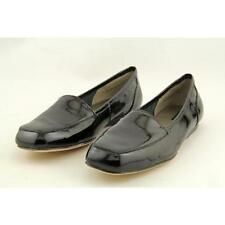 Low (3/4 in. to 1 1/2 in.) Patent Leather Loafers & Moccasins Narrow (AA, N) Flats for Women
