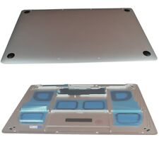 """For Apple MacBook 12"""" A1534 - Replacement Bottom / Base Cover With Feet Silver O"""