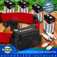 PetSafe Stubborn Dog Collar PRF-275-19 Receiver Fence + 4 Batteries Included