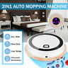 Smart Automatic Robot Vacuum Floor Cleaner Auto Sweeping Suction w/ UV Ligh K