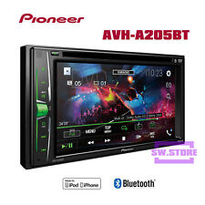 "Pioneer AVH A205BT 6.2"" Double DIN USB Bluetooth CD Radio Car DVD Stereo Player"