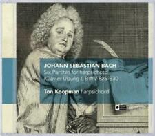 Six Partitas For Harpsichord (Clavier Übung I) von Ton Koopman (2013)